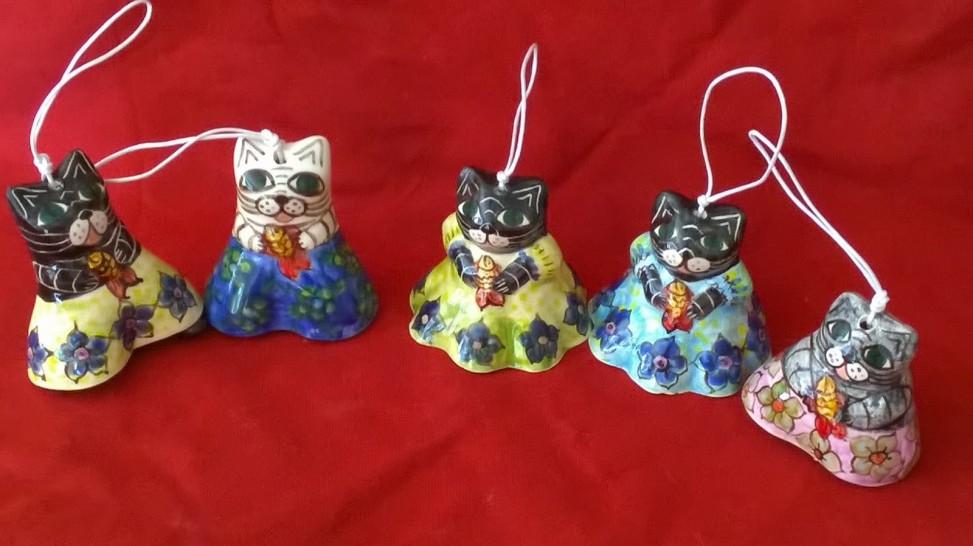 Handmade Ceramic cats