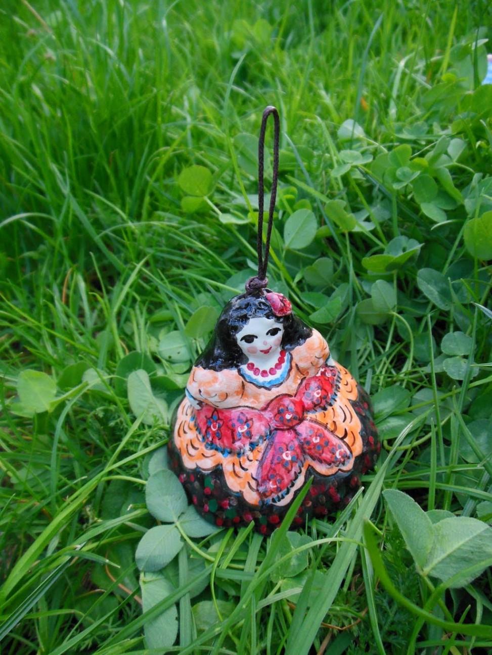 Handmade Ceramic Gipsy girl