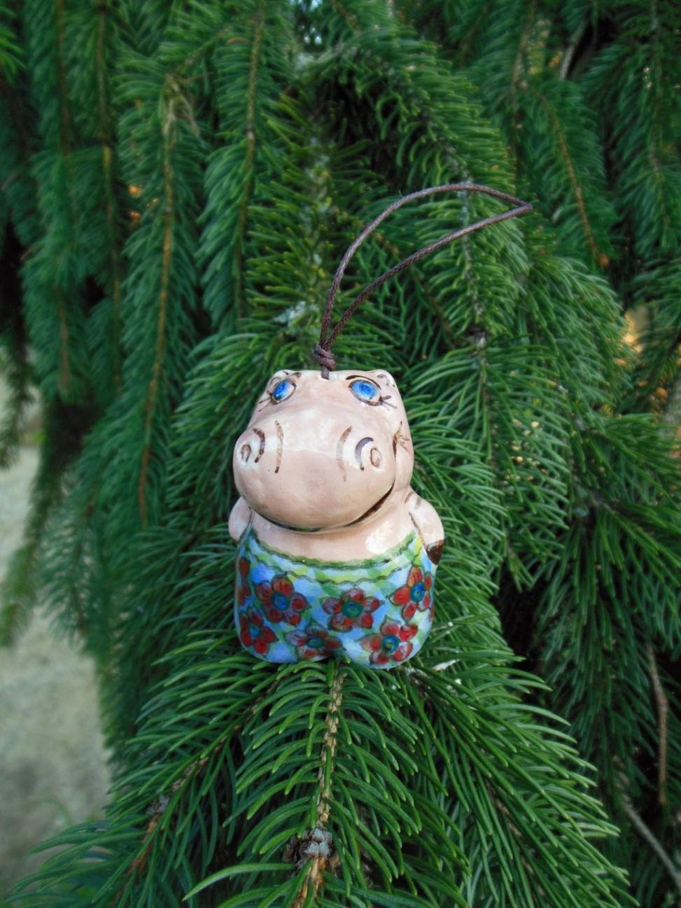 Handmade Hippopotamus ceramics