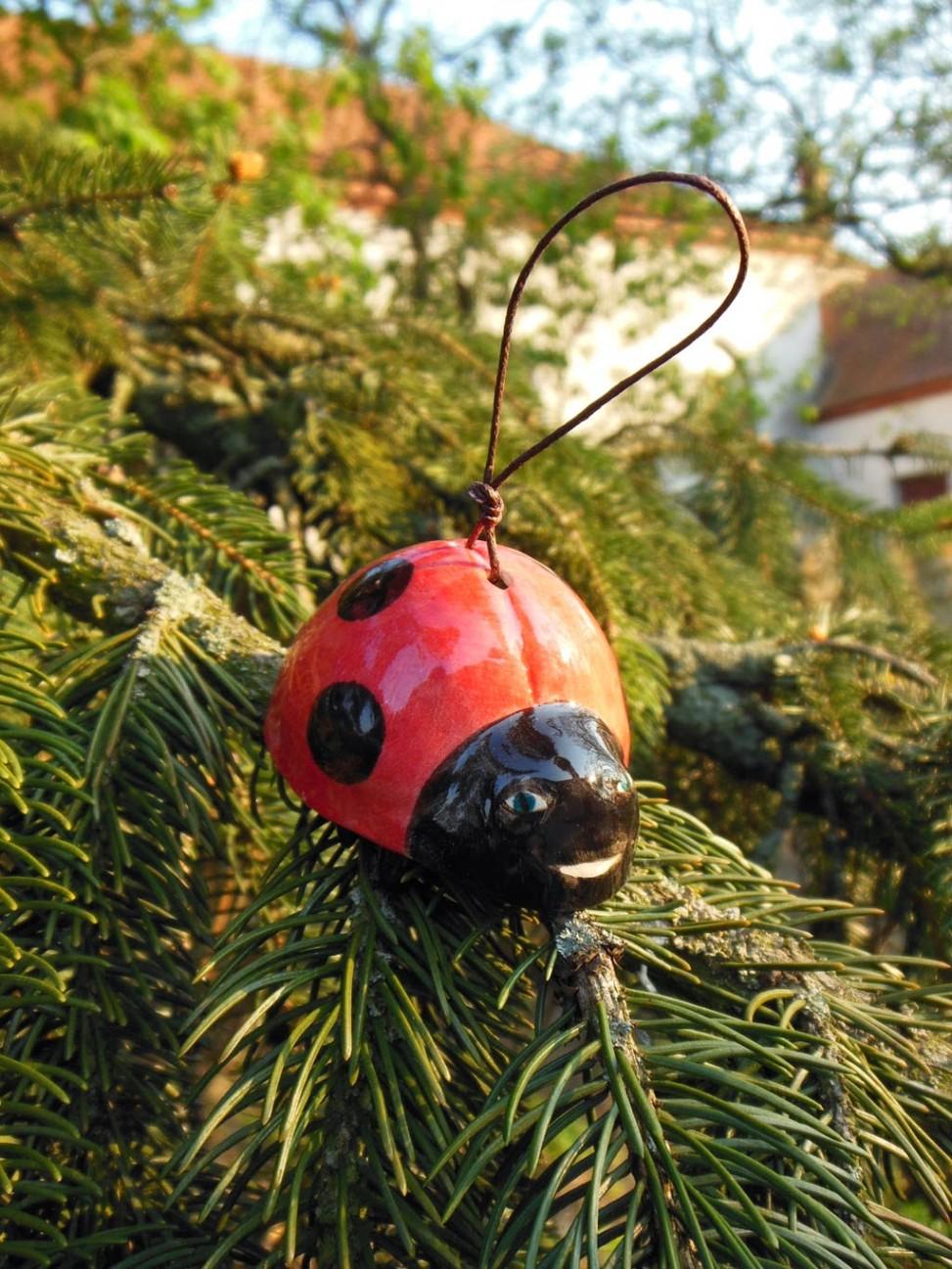 Handmade Ceramics Ladybird