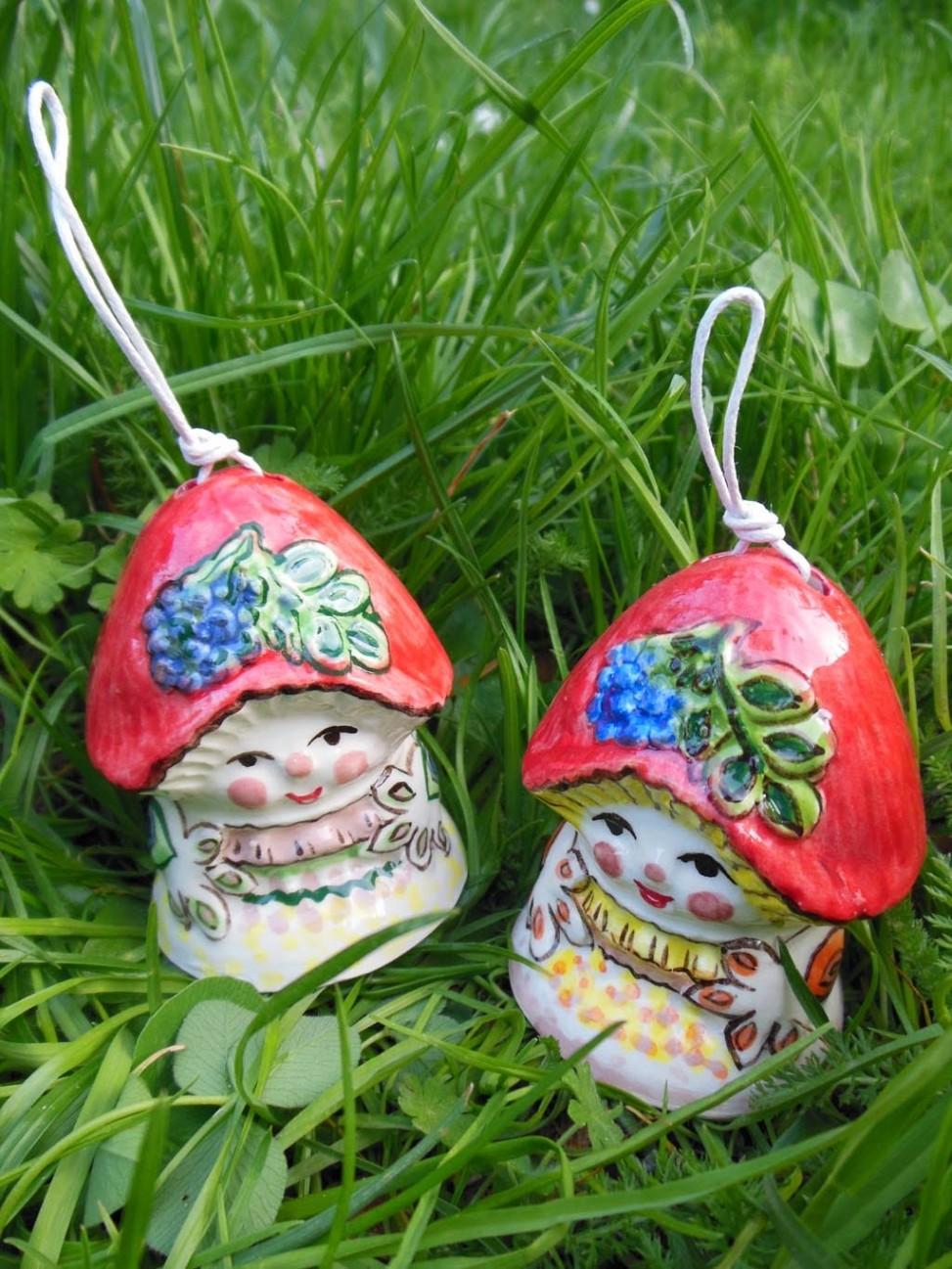 Handmade Mushroom ceramic