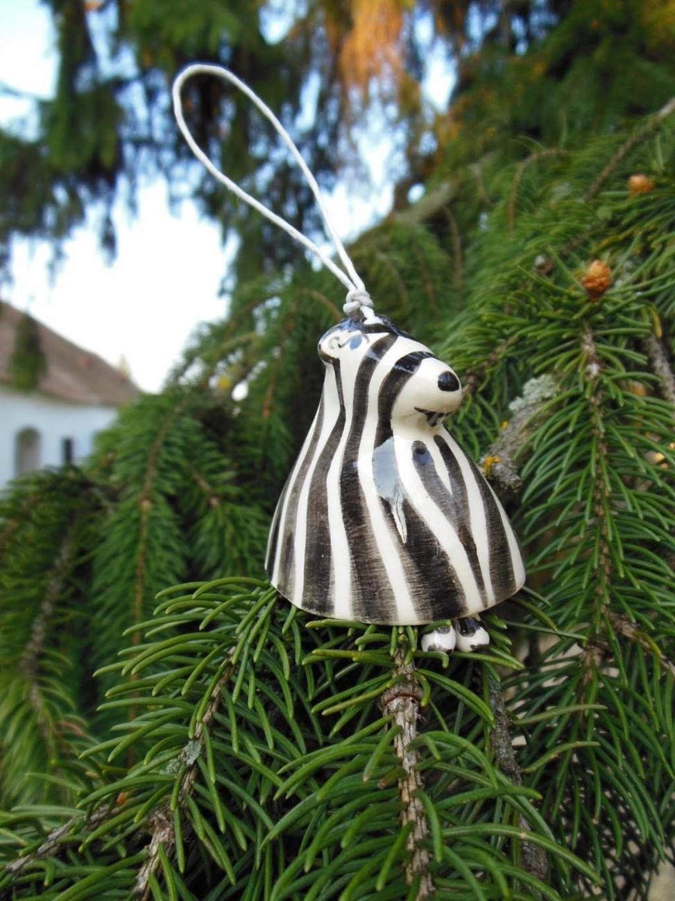 Ceramic Zebra (Handmade)