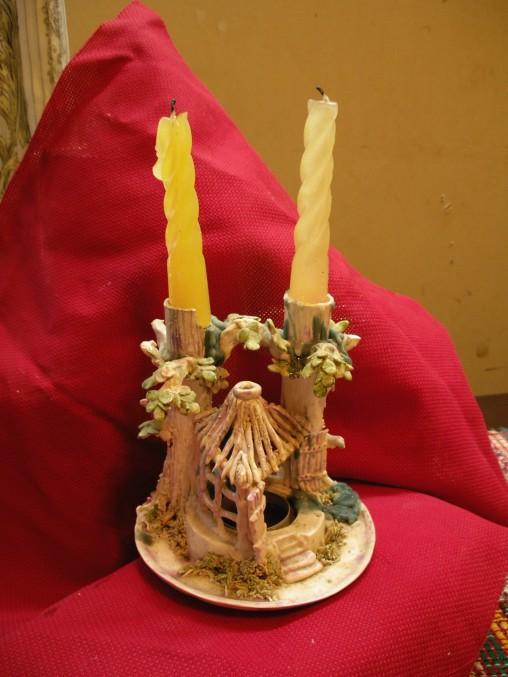 Souvenir Huette Kerzenhalter