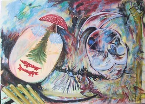 Art | Saturn and Shaman