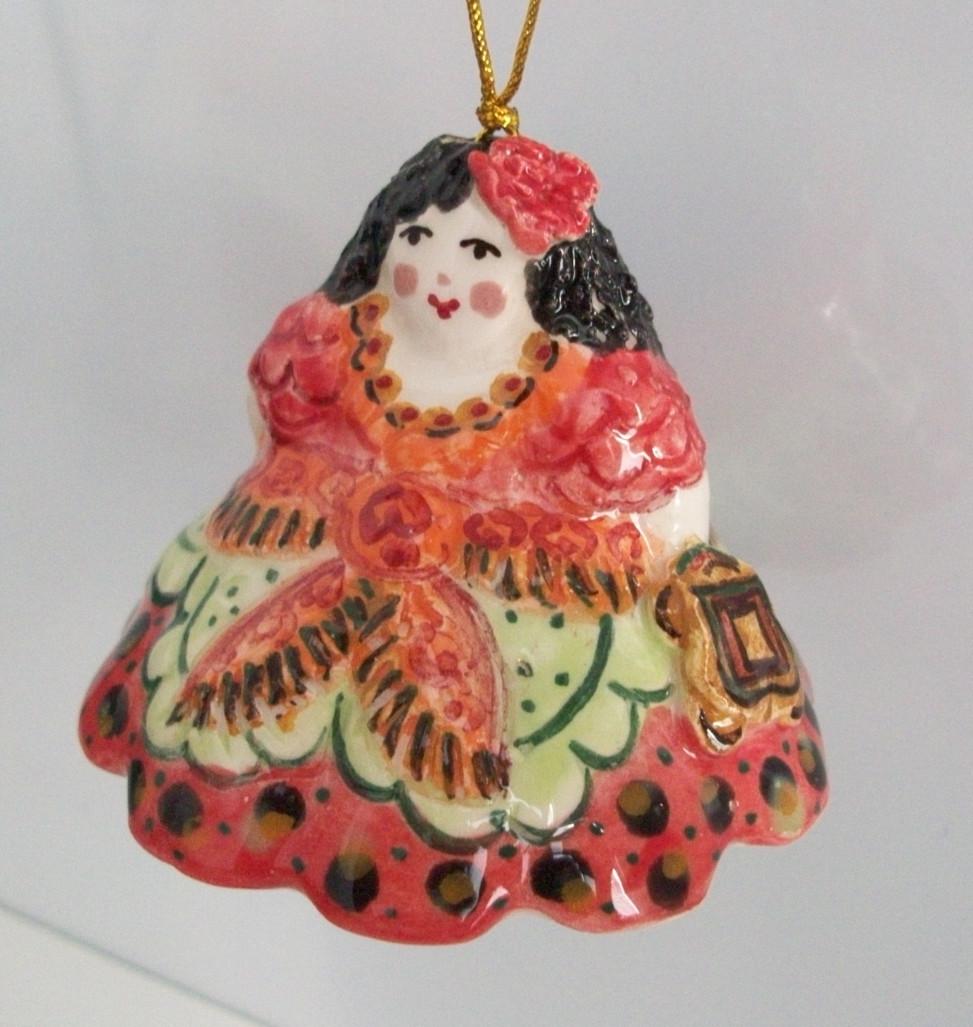 Souvenir Spanish woman