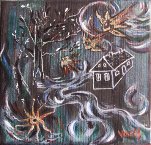 Das Bild Das Geisterhaus