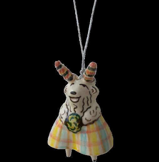 Ceramic goat